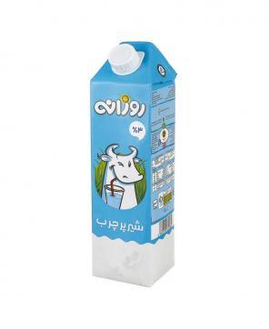 شیر پر چرب 3 درصد چربی روزانه 1 لیتری