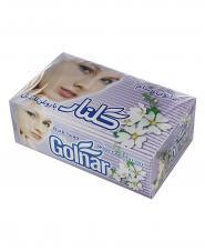 صابون حمام سفید چهره گلنار جعبه 6 عددی 130 گرمی