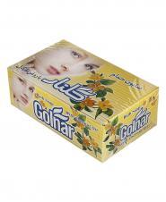 صابون حمام زرد چهره گلنار جعبه 6 عددی 130 گرمی