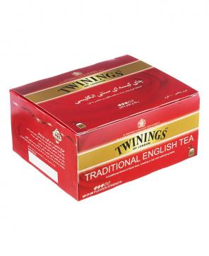 چای کیسه ای صبحانه سنتی توینینگز 50 عددی