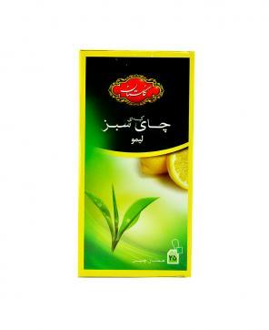 چای سبز و ليمو کیسه ای گلستان 25 عددی