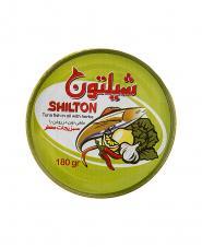 کنسرو تن ماهی در روغن با سبزیجات معطر شیلتون ۱۸۰ گرمی شیلتون