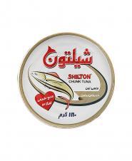 کنسرو تن ماهی در روغن زیتون شیلتون ۱۸۰ گرمی