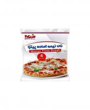 خمیر پیتزا گرد ساده نان مزرعه
