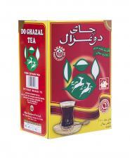 چاي ساده دو غزال خارجي 500 گرمي