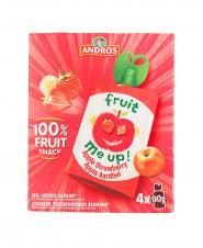 پوره میوه اندروس سیب و توت فرنگی 90گرم