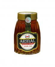 عسل بی موم شيشه کردستان آريبال 900 گرمی