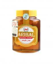 عسل با موم آريبال شيشه مخصوص چهل گياه(800گرم)