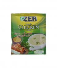 سوپ مرغ ورميشل Zer حجم 65 گرمی