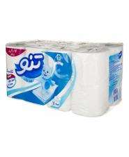 دستمال توالت تنو 3 لایه 16 رول