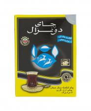 چای عطری 100 درصدخالص خارجی دو غزال جعبه ای 250 گرمی
