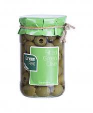 زیتون سبز بدون هسته اسپانیایی شیشه گرین فیلد 680 گرمی