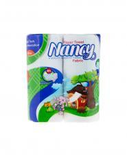 دستمال حوله کاغذی نانسی 3 لایه 2 رول