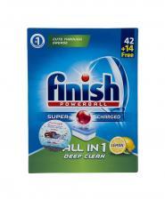 قرص ماشین ظرفشویی لیمویی فینیش 42+14 عددی