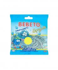 پاستیل ببتو اسپاگتی بلوبری 48*1 ببتو 80 گرمی