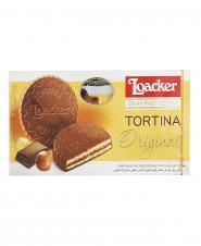 ویفر تورتینا با روکش شکلات 125 گرمی لوکر
