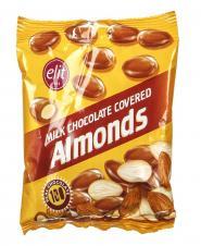 دراژه شکلاتی شیری با مغز دانههای خوراکی 60 گرمی الیت