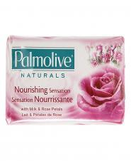صابون  نچرال با شیر و عصاره گل رز 175 گرمی پالمولیو