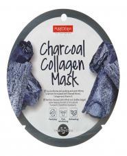 ماسک نقابی کلاژنه حاوی زغال 20 گرمی پیوردرم