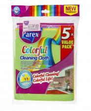 پارچه های رنگی تمیز کننده 5 تایی پارکس