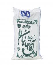 برنج دم سیاه استخوانی 10 کیلویی آقاجانیان