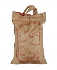 برنج قهوهای 5 کیلویی حاجتبارک