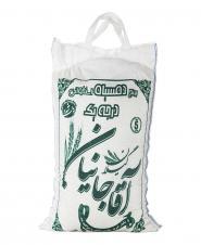 برنج دم سیاه استخوانی 5 کیلویی آقاجانیان