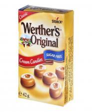 آبنبات شیری کرهای بدون قند 42 گرمی وردرز اورجینال