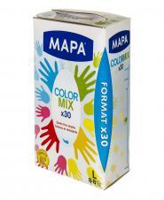 دستکش رنگی یکبار مصرف  بزرگ 30 عددی مپا