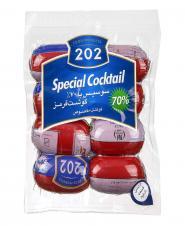 سوسیس کوکتل مخصوص 70 درصد گوشت 500 گرمی 202
