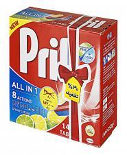 قرص ماشین ظرفشویی لیمویی 14 عددی پریل