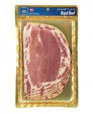 ژامبون رویال بیف 90 درصد گوشت قرمز 300 گرمی 202