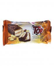 کیک تاپ شکلاتی بادام زمینی 60 گرمی نانرضوی