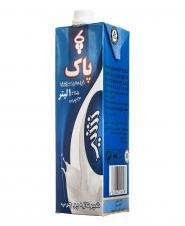 شیر  پر چرب 1 لیتری پاک