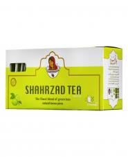 چای سبز لیمو 25 عددی شهرزاد