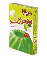 پودر ژله سیب سبز ویتامین ث 100 گرمی شیبابا