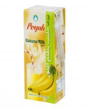شیر موز فرادما 2.5 درصد چربی 200 میلیلیتری پگاه
