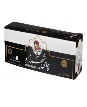 چای سیاه کیسهای ارل گری 25 عددی شهرزاد