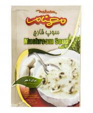 سوپ قارچ 75 گرمی مهنام