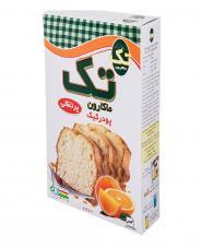 پودر کیک پرتقالی 500 گرمی تکماکارون