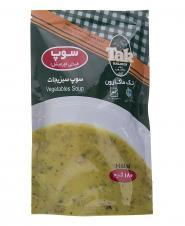 سوپ ورمیشل نیمه آماده سبزیجات 180 گرمی تکماکارون
