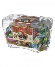 شکلات تلخ و شیری مغزدار مخلوط 380 گرمی آیدین