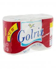 دستمال توالت سفید 2 رول گلریز