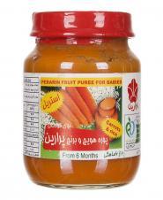 پوره هویج و برنج مخصوص کودکان 125 گرمی پرارین
