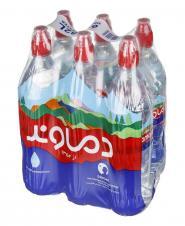 آب آشامیدنی 6 عددی دماوند