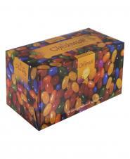 دستمال کاغذی شکلات سه لایه 100 برگ چشمک
