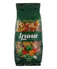 ماکارونی فرمی مته سبزیجات 500 گرمی سمیرا