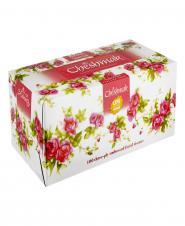 دستمال کاغذی گل سرخی سه لایه 100 برگ چشمک