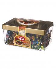 شکلات تلخ و شیری با دانه های خوراکی 320 گرمی آیدین