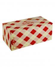 دستمال کاغذی طرح یاسمین بنفشه دو لایه 150 برگ پاکان